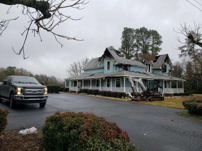 Greenville SC House Demolition