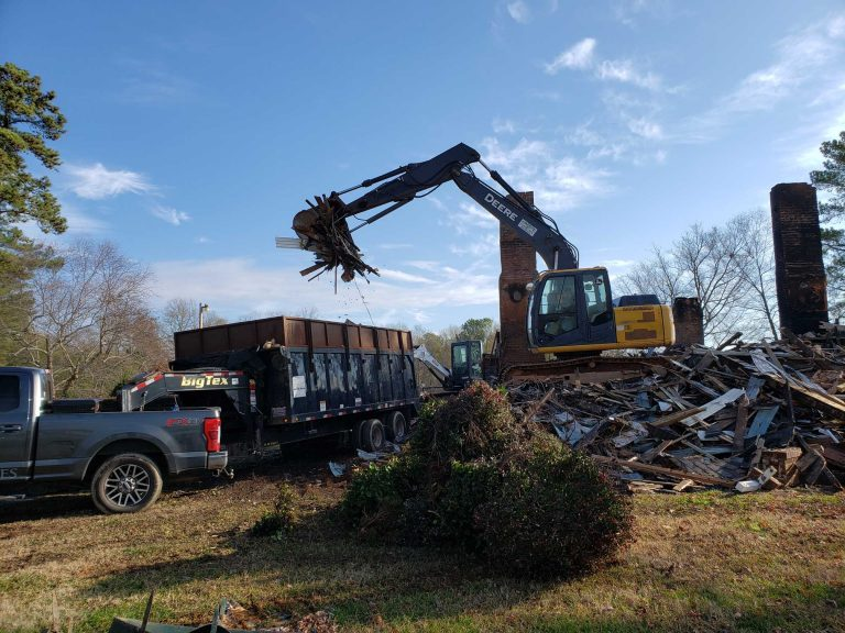 Greenville, SC House Demolition Services