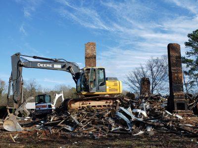 Spartanburg, SC House Demolition