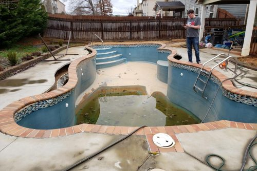 swimming pool removal